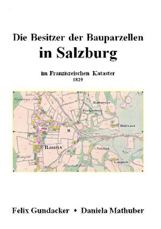 """Cover Buch """"Hausbesitzer in Salzburg 1829"""""""
