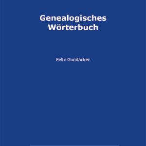 "Cover Buch ""Genealogisches Woerterbuch"""