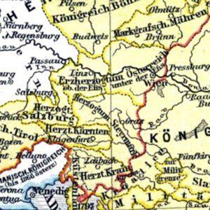 Landkarte - Cover für Ortsverzeichnis